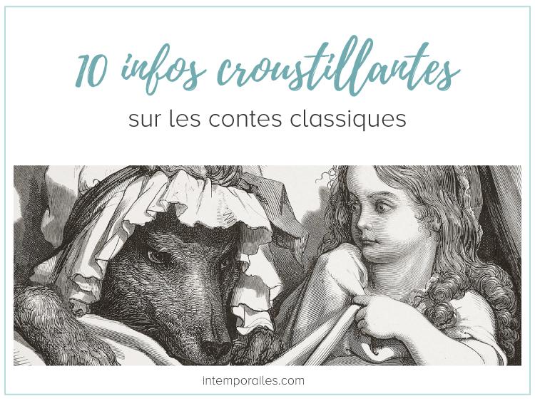 10 infos sur les contes