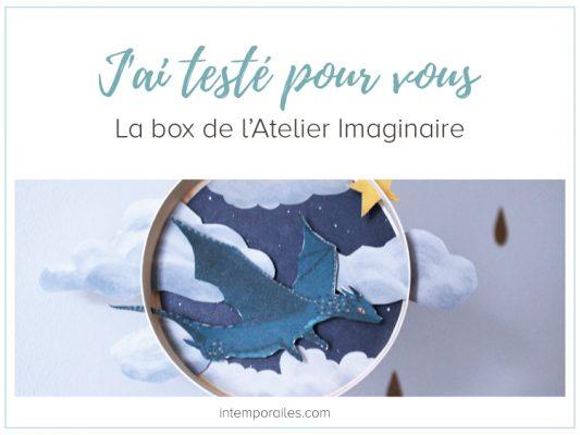 Box Atelier Imaginaire avis