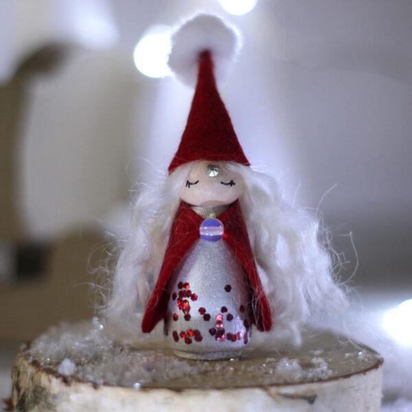 Mama Noël - Poupée-Totem Noël