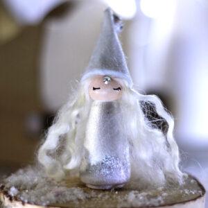 Miss Silver - Poupée-Totem Noël