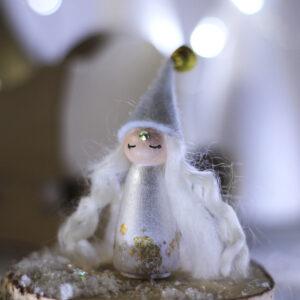 Miss Gold - Poupée-Totem Noël