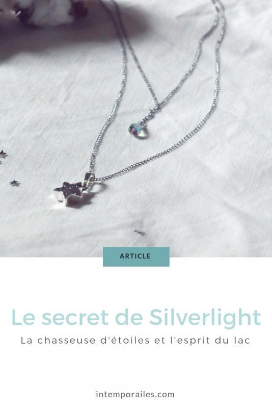 Le collier Silverlight et son histoire