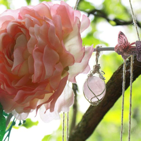 Fée de Beltane rose