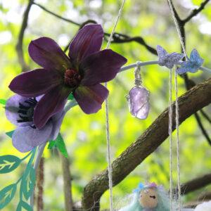 Fée de Beltane violette