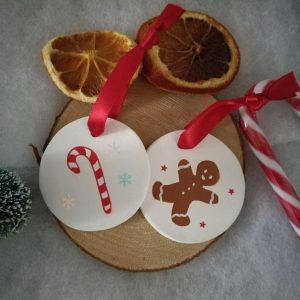 Ornements en argile Mister Gingerbread